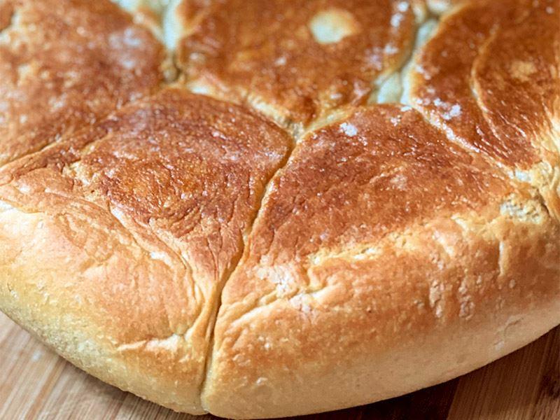 Tavada sütlü ekmek