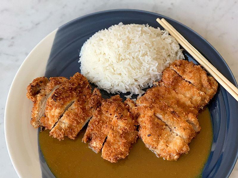Tavuk katsu curry