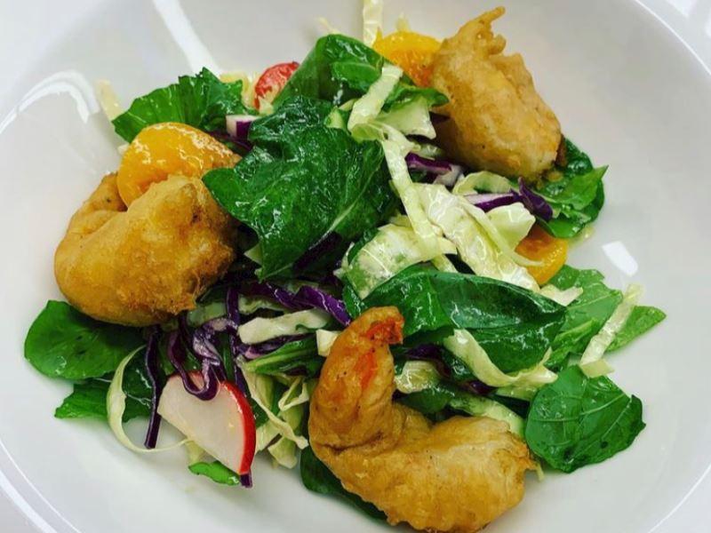 Tempura Karides Salatası