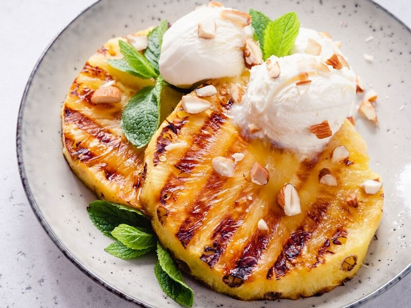Thai Grilled Pineapple