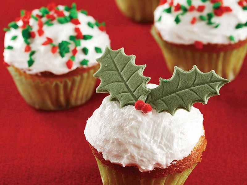 Vanilyalı mini cupcake