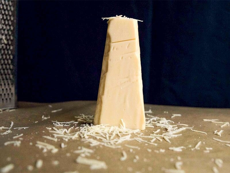 Vegan parmesan peyniri