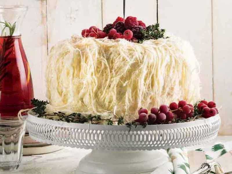 Yeni yıl kutlama pastası