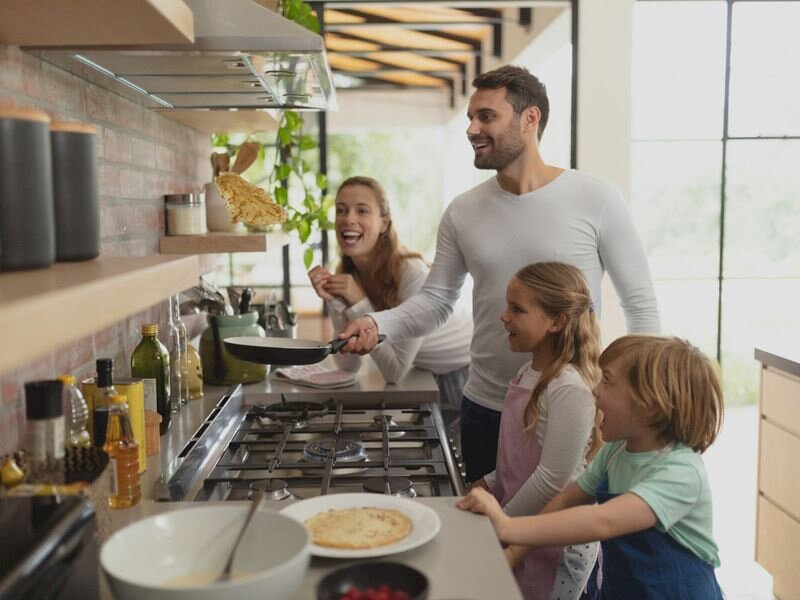 Daha lezzetli yemekler için donanımlı mutfaklar