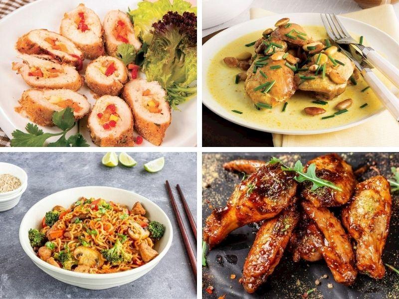 Değişik Tavuk Yemekleri: Tavukla Yapılan 16 Farklı Tarif