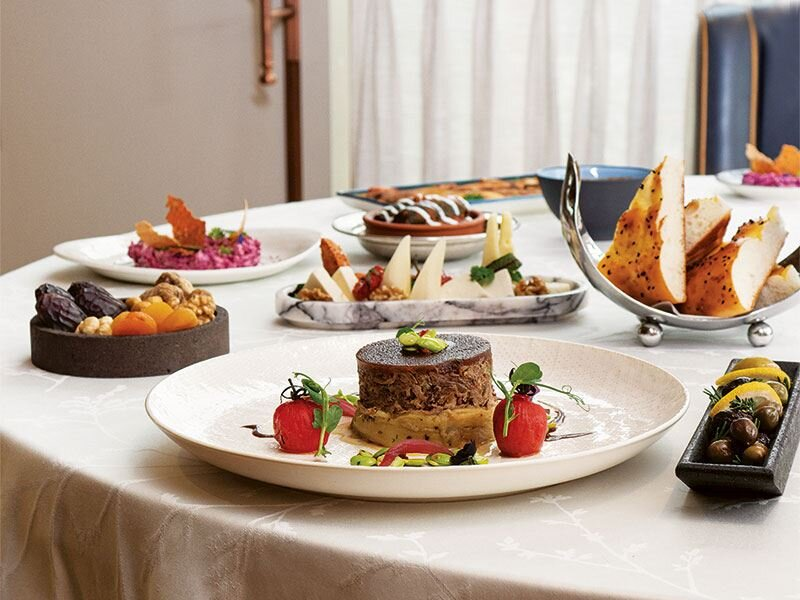 Ercan Yamantürk'den iftar menüsü