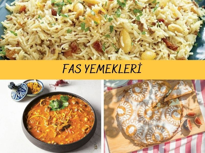 Fas Yemekleri: Fas Mutfağından 10 Nefis Tarif