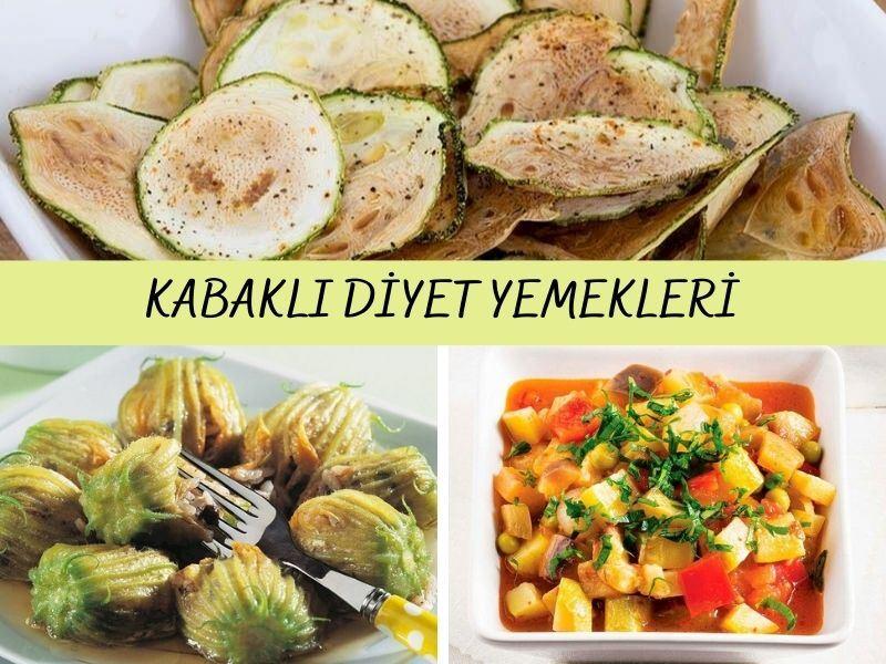 Kabaklı Diyet Yemekleri: Kabakla Yapılan 14 Nefis Tarif