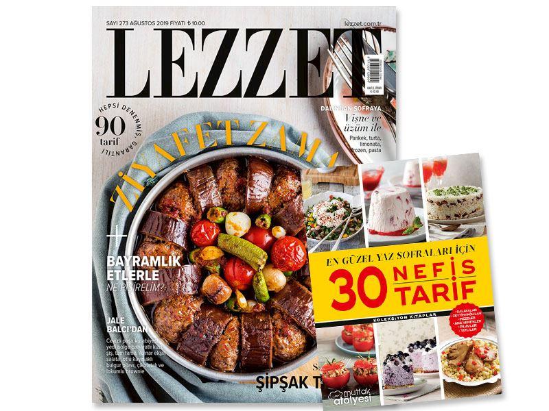Lezzet'in ağustos sayısı çıktı!
