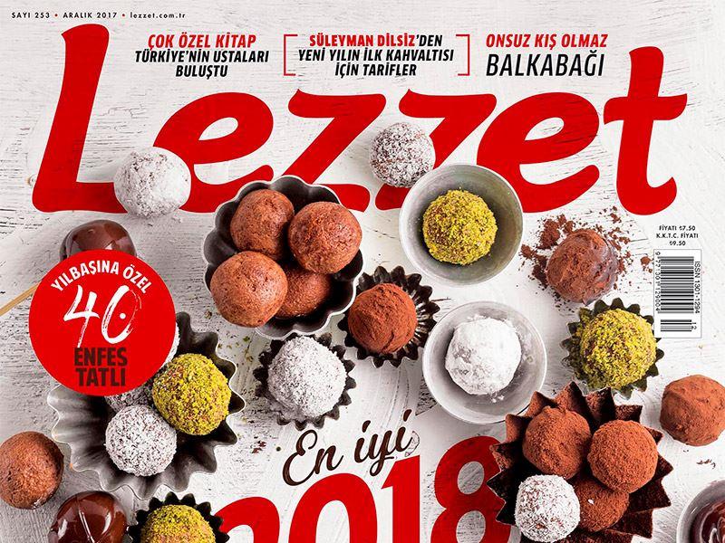 Lezzet'in Aralık Sayısı Bayilerde!