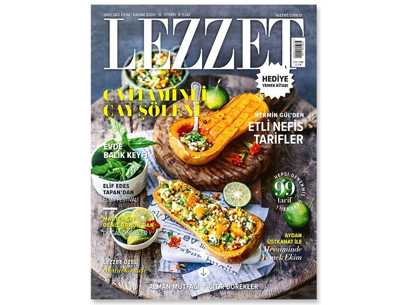 Lezzet'in Ekim-Kasım Sayısı Bayilerde!