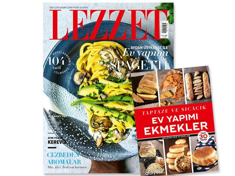 Lezzet'in Kasım Sayısı Dopdolu!