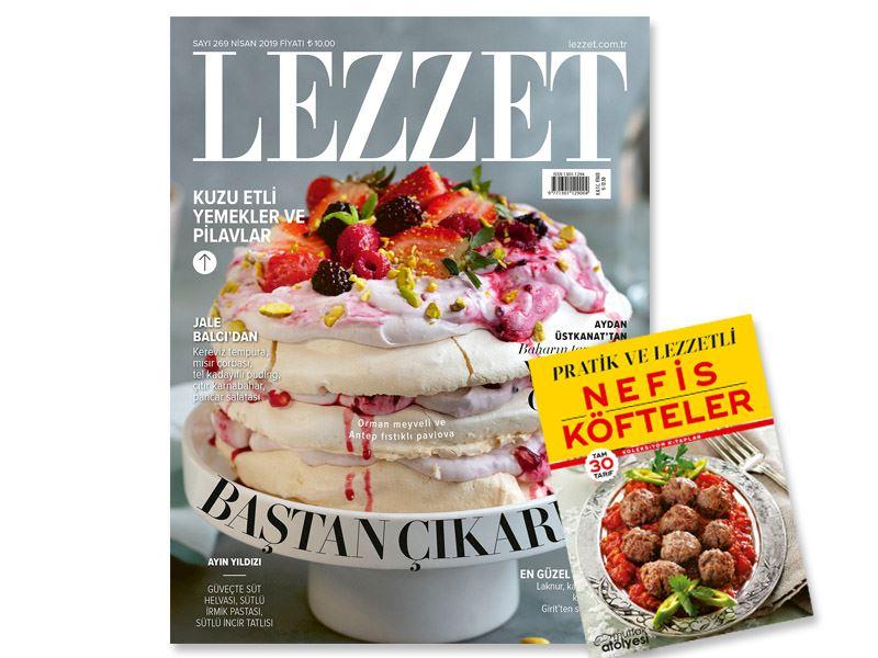Lezzet'in Nisan Sayısı Bayilerde!