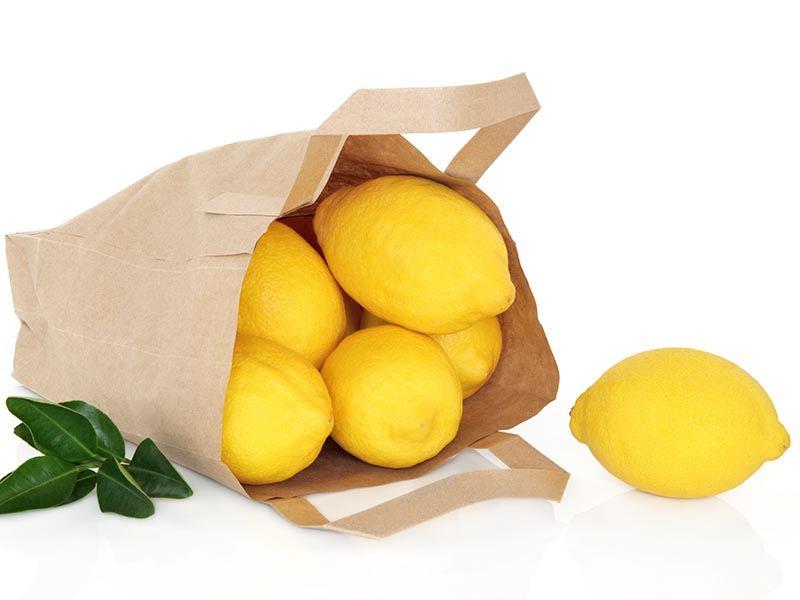 Limon kabuklarını atmayın!