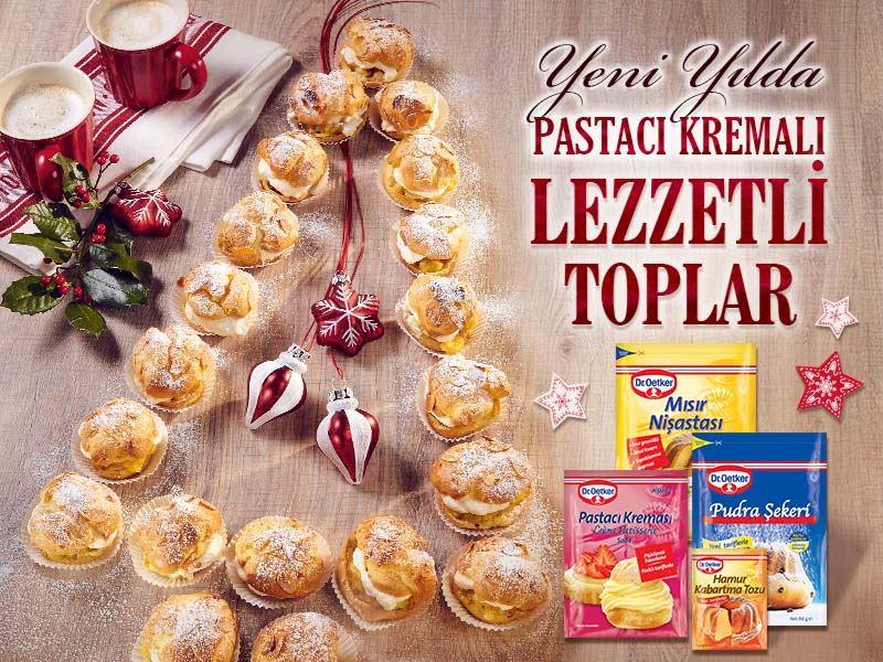 Pastacı Kremalı Elmalı Toplar