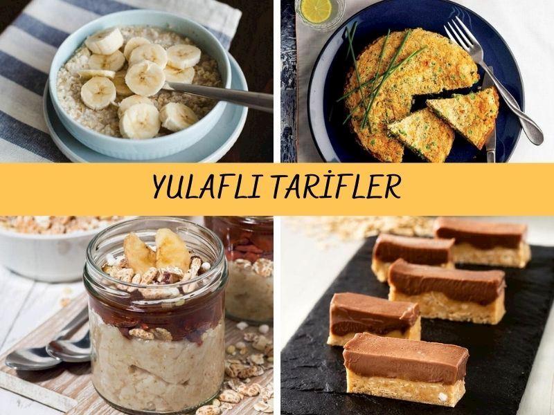 Sağlıklı, Doyurucu ve Düşük Kalorili 14 Yulaflı Tarif