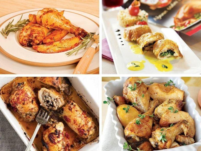 Tavuk But Tarifleri: Kolay ve Pratik 12 Farklı Tavuk But Yemeği