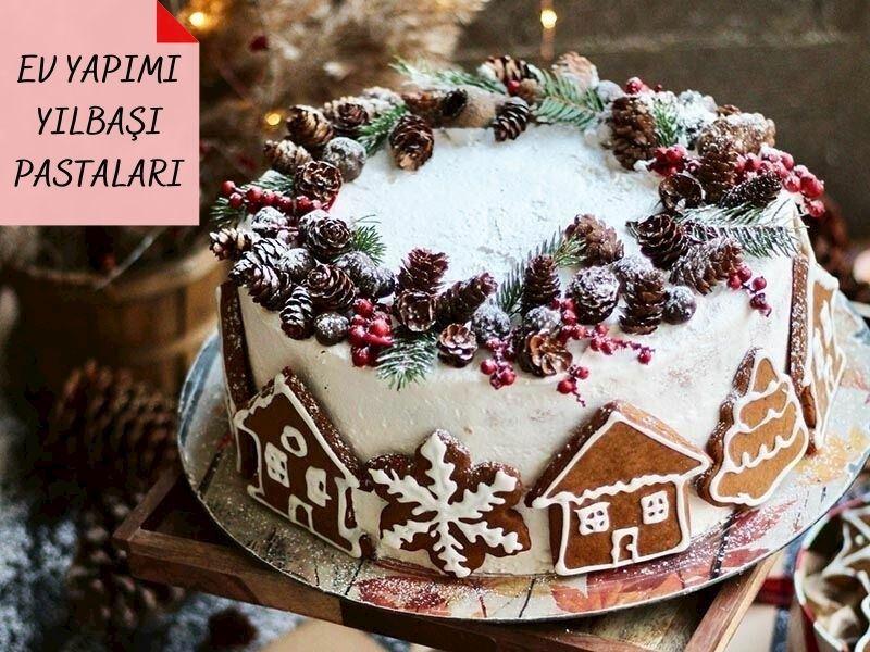 Yılbaşı Pastaları: Evde Kolayca Yapabileceğiniz 20 Nefis Yılbaşı Pastası Tarifi