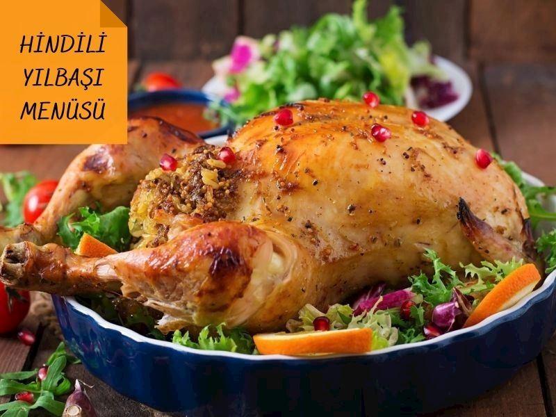 Yılbaşı Hindi Menüsü: Sofralarınızı Şenlendirecek Basit 13 Hindi Yemeği Tarifi