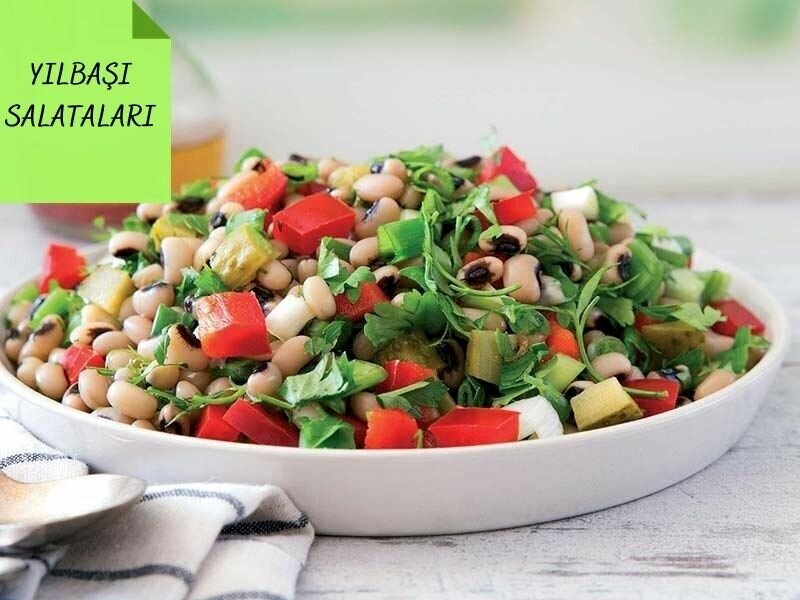 Yılbaşı Salataları: Yılbaşı Sofralarına Özel 18 Nefis Salata Tarifi