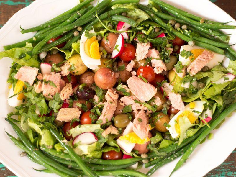 Niçoise salata