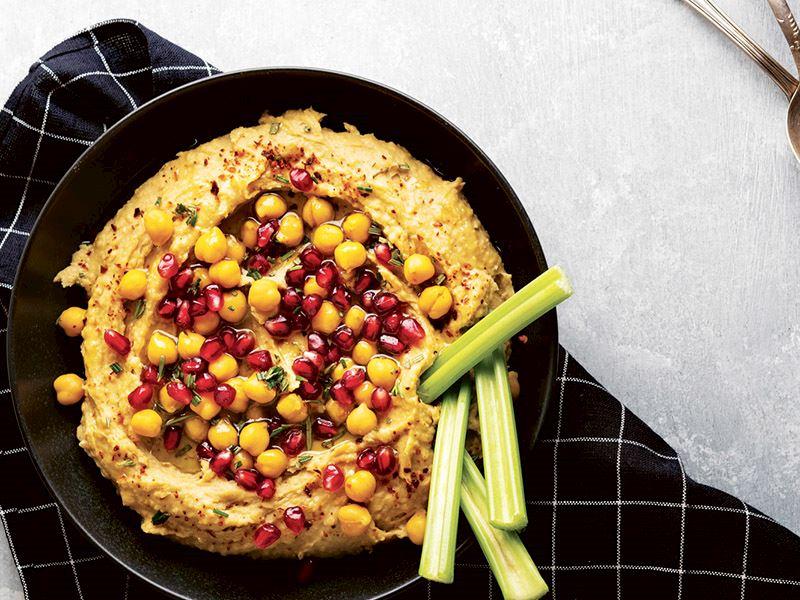 Zerdeçallı ve narlı humus